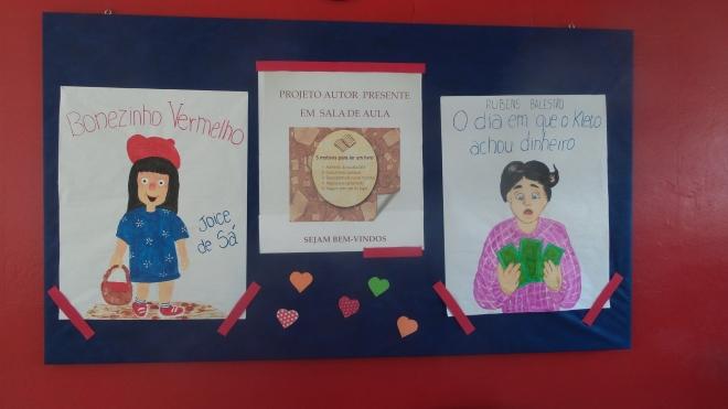 Trabalhos realizados no Instituto Estadual de Educação Marcílio Dias